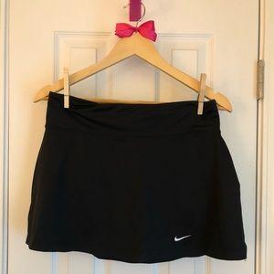 Black Nike Tennis Skirt